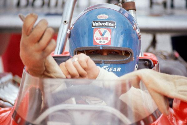 1974 USAC Indycar Series.Michigan, MI, USA. 15th September 1974.Gordon Johncock (Eagle-Offenhauser), 14th/Ignition.World Copyright: Murenbeeld/LAT Photographic