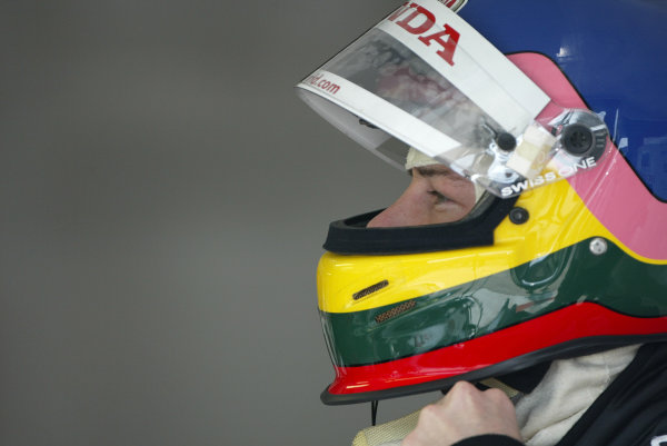 2003 San Marino Grand Prix - Friday 1st QualifyingImola, Italy. 18th April 2003Jacques Villeneuve, BAR Honda 005.World Copyright: Steve Etherington/LAT Photographic ref: Digital Image Only