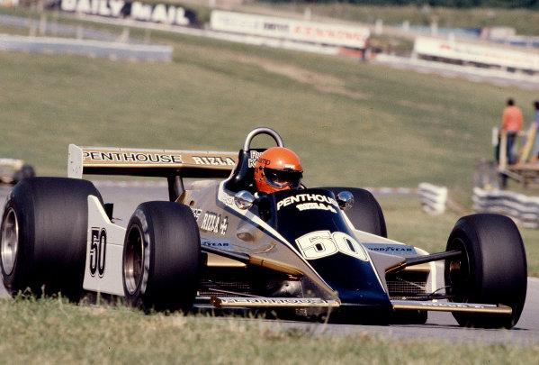 1980 British Grand Prix.Brands Hatch, England.11-13 July 1980.Rupert Keegan (Williams FW07 Ford) 11th position.Ref-80 GB 34.World Copyright - LAT Photographic