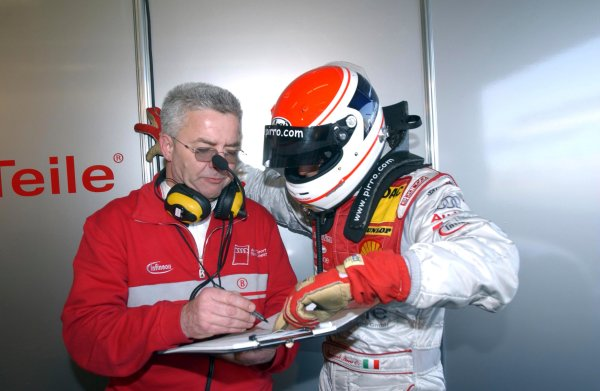 2004 DTM Testing