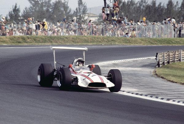 1968 Mexican Grand Prix.Mexico City, Mexico.1-3 November 1968.Joakim Bonnier (J Bonnier Racing/Honda RA301) 5TH position.Ref-68 MEX 74.World Copyright - LAT Photographic