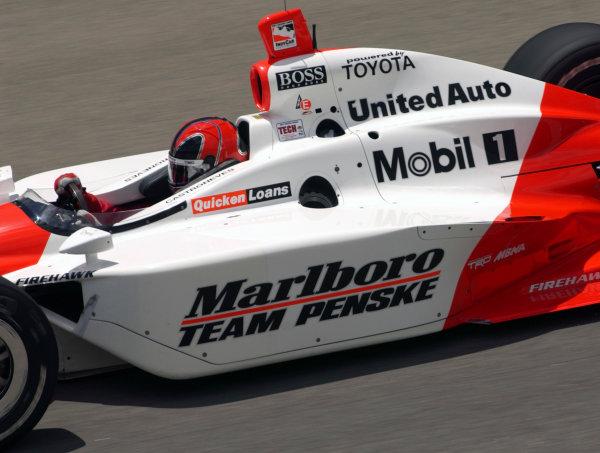 2003 IRL IndyCar Texas,6/5-6/7/03, Helio CastronevesTexas Motor SpeedwayWorld Copyright-Walt Kuhn 2003 LAT Photographicref: Digital Image Only