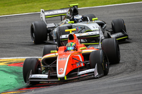Spa-Francorchamps (BEL) May 29 - 31 2015 - World Series by Renault at Circuit Spa-Francorchamps. Beitske Visser #16 AVF. Action. © 2015 Diederik van der Laan  / Dutch Photo Agency / LAT Photographic