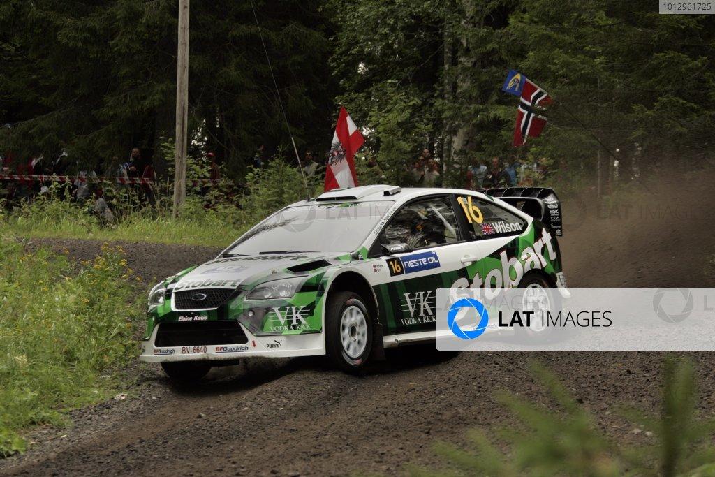 2007 FIA World Rally Champs. Round nine