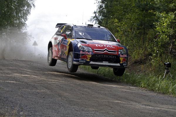 Round 08Rally Finland 29-31 July 2010 Sebastien Ogier, Citroen WRC, ActionWorldwide Copyright: McKlein/LAT