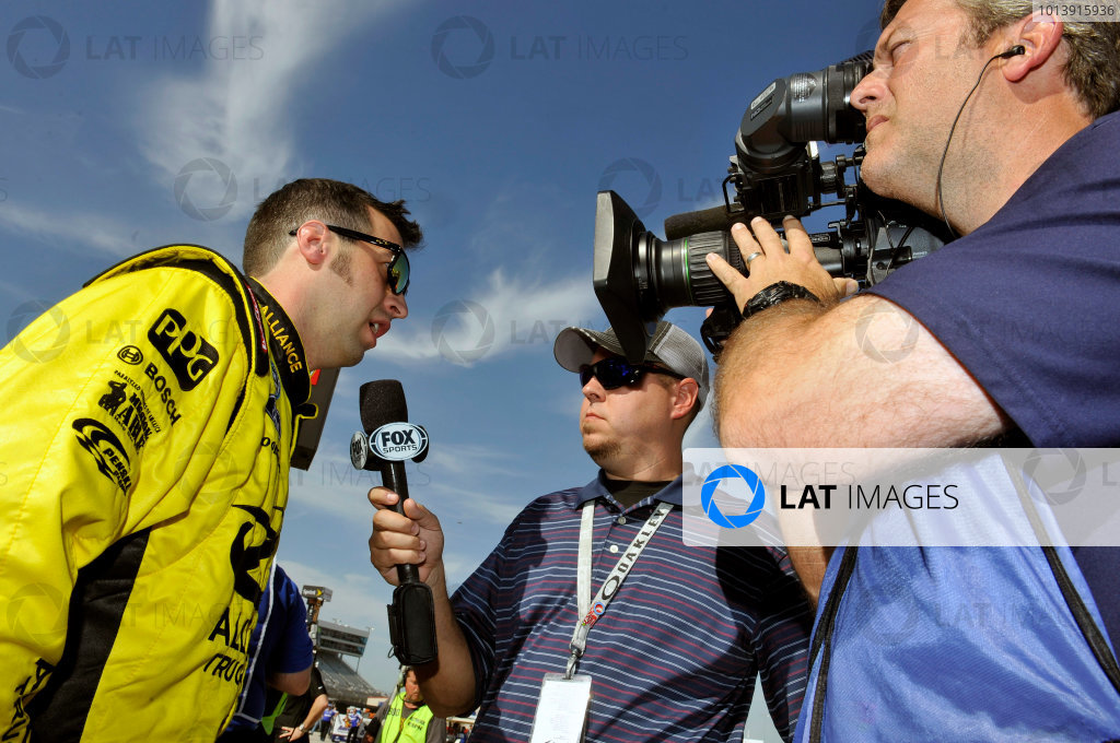 11-12 April, 2013, Fort Worth, Texas USA Sam Hornish Jr. ©2013, Nigel Kinrade LAT Photo USA