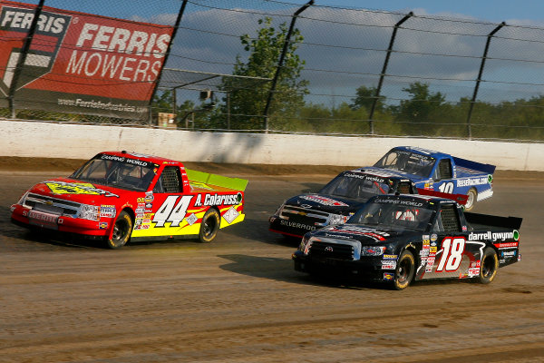 23-24 July, 2013, Rossburg, Ohio USA Joey Coulter, Jr Heffner, Jimmy Weller III and Joe Cobb © 2013, Russell LaBounty LAT Photo USA