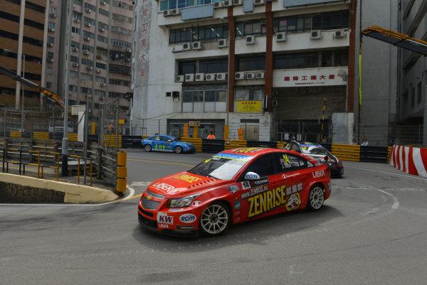 2013 World Touring Car Championship. Round 12 - Circuit de Guia, Macau, China. Sunday 17 November 2013. Race1, James Nash (GBR) Chevrolet Cruze 1.6 T, Bamboo Engineering. World Copyright: XPB Images / LAT Photographic. ref: Digital Image PHOTO4_560467