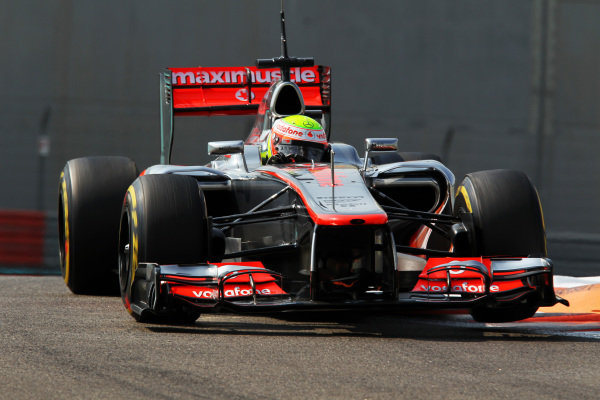 Formula One Young Drivers Test, Day Three, Yas Marina Circuit, Abu Dhabi, UAE, Thursday 8 November 2012.