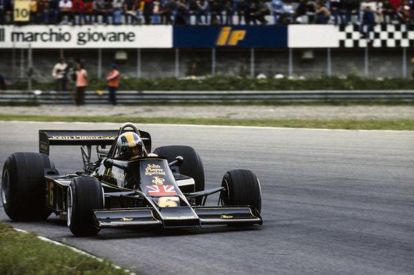 Gunnar Nilsson, Lotus 77 Ford.