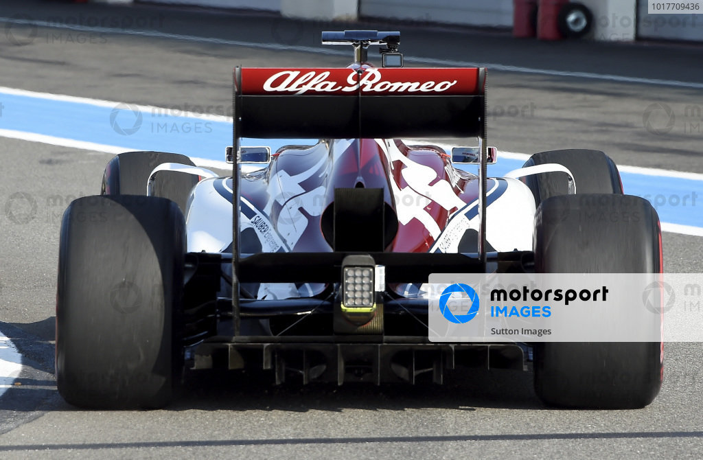 Juan Manuel Correa First F1 Test