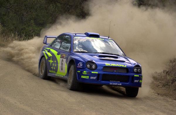 2001 World Rally ChampionshipCyprus Rally, June 1-3, 2001Petter Solberg during shakedownPhoto: Ralph Hardwick/LAT