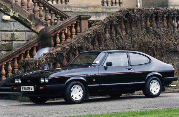 Ford Capri 2.8 Injection.