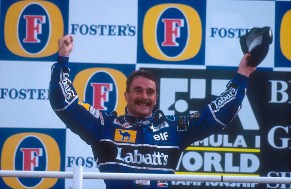 1992 British Grand Prix.