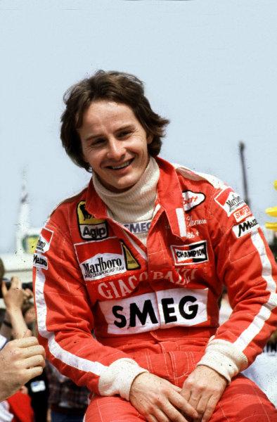 Formula 1 World Championship.Gilles Villeneuve (Ferrari).Ref-V2A 12.World - LAT Photographic