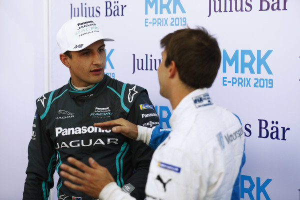 Mitch Evans (NZL), Panasonic Jaguar Racing, and Antonio Felix da Costa (PRT), BMW I Andretti Motorsports