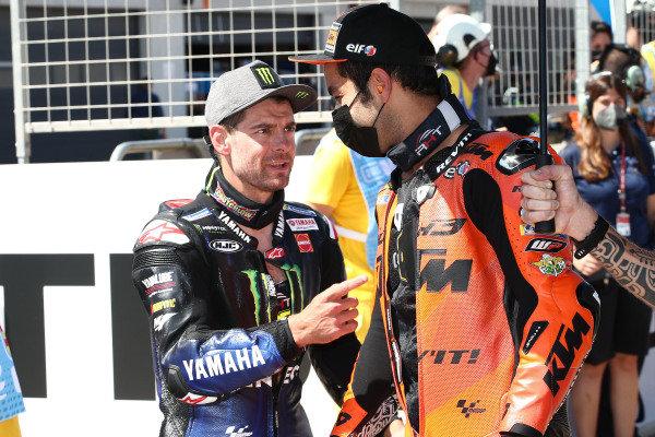 Cal Crutchlow, Yamaha Factory Racing, Danilo Petrucci, KTM Tech3.