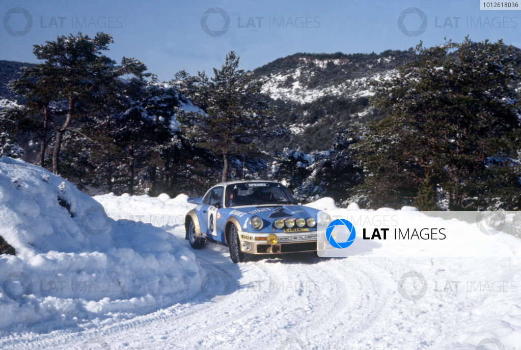 Monte Carlo Rally, Monaco. 21-28 January 1978.