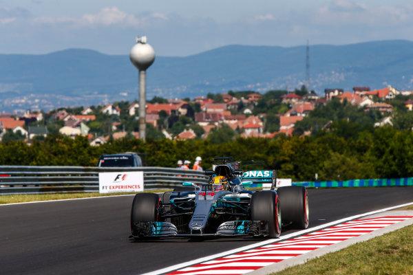 Hungaroring, Budapest, Hungary.  Friday 28 July 2017. Lewis Hamilton, Mercedes F1 W08 EQ Power+. World Copyright: Andy Hone/LAT Images  ref: Digital Image _ONY9457