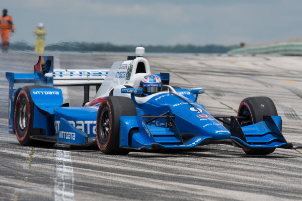 Verizon IndyCar Series Kohler Grand Prix Road America, Elkhart Lake, WI USA Sunday 25 June 2017 Scott Dixon, Chip Ganassi Racing Teams Honda World Copyright: Geoffrey M. Miller LAT Images
