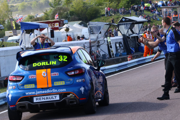 2017 Renault Clio Cup Thruxton, 6th-7th May 2017,  James Dorlin (GBR) Westbourne Motorsport Renault Clio Cup World copyright. JEP/LAT Images