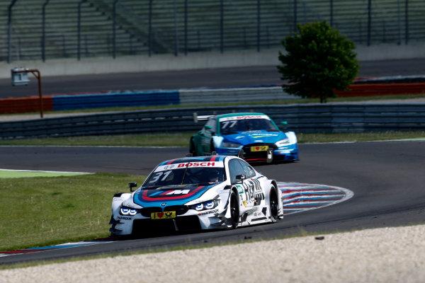 2017 DTM Round 2 Lausitzring, Germany. Sunday 21 May 2017. Tom Blomqvist, BMW Team RBM, BMW M4 DTM World Copyright: Alexander Trienitz/LAT Images ref: Digital Image 2017-DTM-R2-ESL-AT1-4554