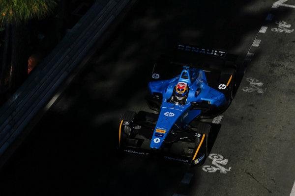 2016/2017 FIA Formula E Championship. Monte-Carlo, Monaco Saturday 13 May 2017. Sebastien Buemi (SUI), Renault e.Dams, Spark-Renault, Renault Z.E 16. Photo: Alastair Staley/LAT/Formula E ref: Digital Image _X0W8441