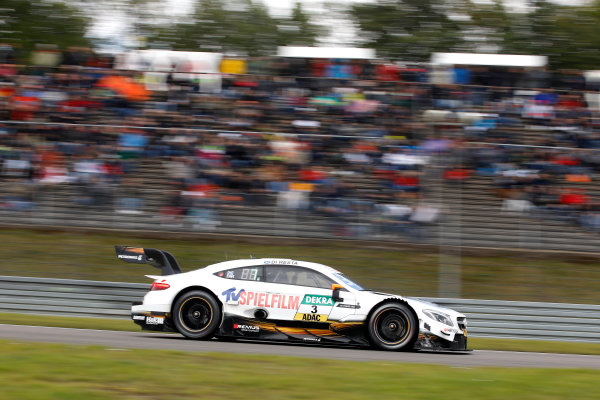 2017 DTM Round 7  Nürburgring, Germany  Sunday 10 September 2017. Paul Di Resta, Mercedes-AMG Team HWA, Mercedes-AMG C63 DTM  World Copyright: Alexander Trienitz/LAT Images ref: Digital Image 2017-DTM-Nrbg-AT1-2438