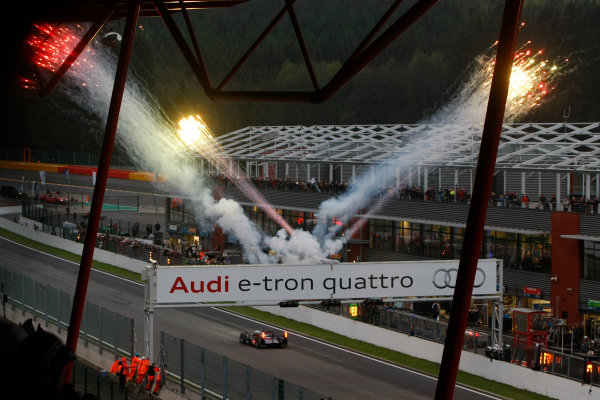 Spa Francorchamps, 3rd-5th May 2012, Marc Gene/Romain Dumas/Loic Duval - Audi Sport Team Joest Audi R18 TDI World Copyright: Jakob Ebrey/LAT Photographic