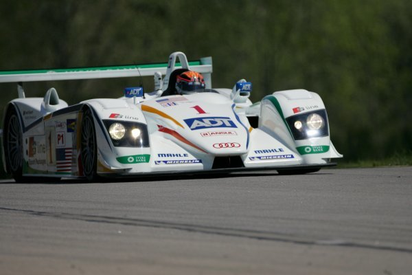JJ Lehto (FIN) Champion Racing Audi R8 won the race.American Le Mans Series, Rd2, Road Atlanta, USA, 17 April 2005.DIGITAL IMAGE