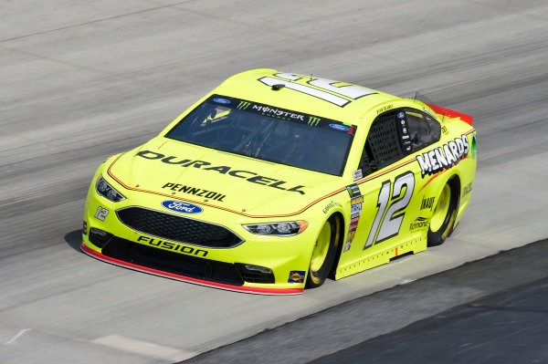 #12: Ryan Blaney, Team Penske, Ford Fusion Menard's / Duracell