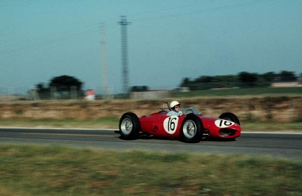 Phil Hill(USA) Ferrari 156 French GP, Rheims, 2 July 1961