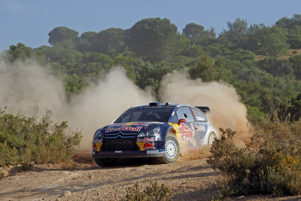 2010 FIA World Rally ChampionshipRound 06Rally of Portugal 27-30 May 2010Kimi Raikkonen, Citroen WRC, Action.Worldwide Copyright: McKlein/LAT