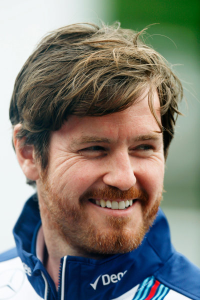Circuit Gilles Villeneuve, Montreal, Canada. Friday 5 June 2015. Rob Smedley, Head of Vehicle Performance, Williams F1. World Copyright: Alastair Staley/LAT Photographic. ref: Digital Image _79P1588