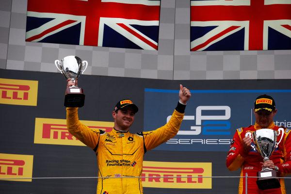 2016 GP2 Series Round 4 Red Bull Ring, Spielberg, Austria. Sunday 3 July 2016. Oliver Rowland (GBR, MP Motorsport)  Photo: Sam Bloxham/GP2 Series Media Service. ref: Digital Image _SLA9946