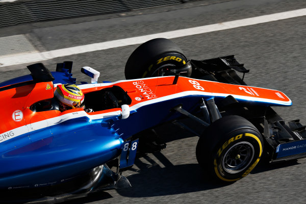 Circuit de Catalunya, Barcelona, Spain Thursday 25 February 2016. Rio Haryanto, Manor MRT05 Mercedes. World Copyright: Alastair Staley/LAT Photographic ref: Digital Image _R6T1173