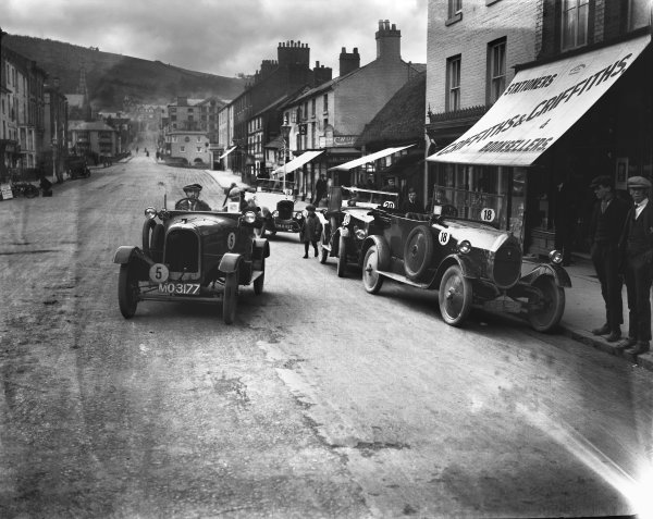 1924 RAC Small Car Trials.