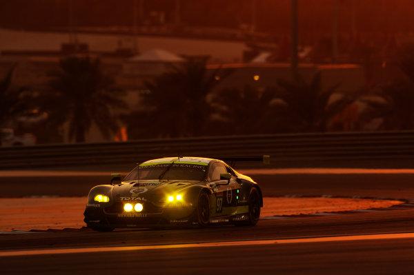 2017 FIA World Endurance Championship, Bahrain International Circuit, Bahrain. 16th-18th November 2017, #97 Aston Martin Racing Aston Martin Vantage: Darren Turner, Jonny Adam World Copyright. JEP/LAT Images