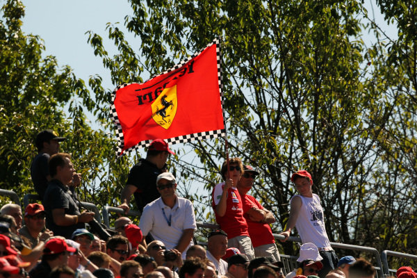 Ferrari fans. Formula One World Championship, Rd 14, Italian Grand Prix, Practice Day, Monza, Italy, Friday 10 September 2010.