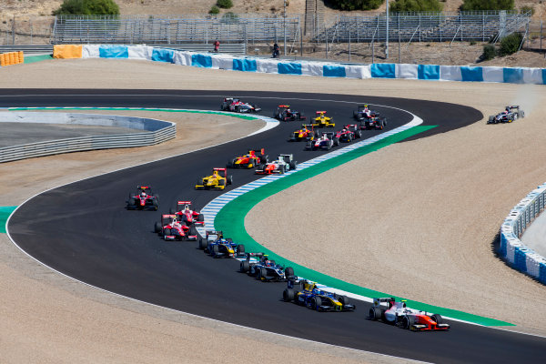2017 FIA Formula 2 Round 10. Circuito de Jerez, Jerez, Spain. Sunday 8 October 2017. Jordan King (GBR, MP Motorsport).  Photo: Zak Mauger/FIA Formula 2. ref: Digital Image _X0W2691