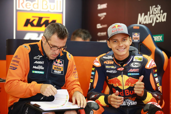 2017 Moto3 Championship - Round 11 Spielberg, Austria Friday 11 August 2017 Bo Bendsneyder, Red Bull KTM Ajo World Copyright: Gold and Goose / LAT Images ref: Digital Image 685553