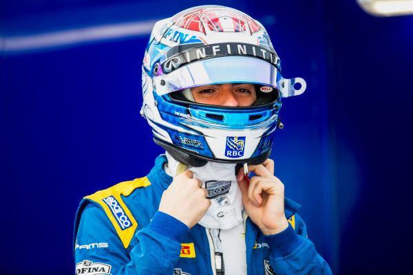 2017 FIA Formula 2 Round 9. Autodromo Nazionale di Monza, Monza, Italy. Friday 1 September 2017. Nicholas Latifi (CAN, DAMS).  Photo: Zak Mauger/FIA Formula 2. ref: Digital Image _56I6322