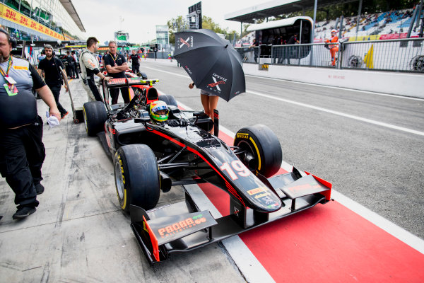 2017 FIA Formula 2 Round 9. Autodromo Nazionale di Monza, Monza, Italy. Friday 1 September 2017. Roberto Merhi (ESP, Rapax).  Photo: Zak Mauger/FIA Formula 2. ref: Digital Image _56I6446