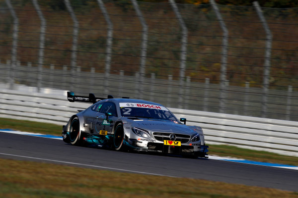 2017 DTM Round 9  Hockenheimring, Germany  Sunday 15 October 2017. Gary Paffett, Mercedes-AMG Team HWA, Mercedes-AMG C63 DTM  World Copyright: Alexander Trienitz/LAT Images ref: Digital Image 2017-DTM-HH2-AT3-1926