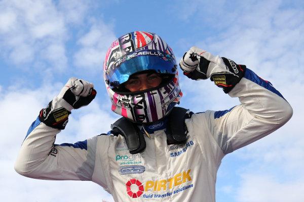 2017 British F4 Championship, Knockhill, 12th-13th August 2017, Jamie Caroline (GBR) Carlin British F4 World copyright. JEP/LAT Images