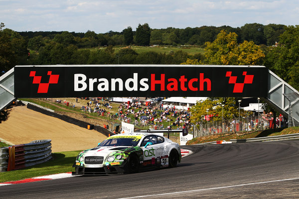 2017 British GT Championship, Brands Hatch, 5th-6th August 2017, Rick Parfitt / Seb Morris Team Parker Racing Bentley Continental GT3  World Copyright. JEP/LAT Images