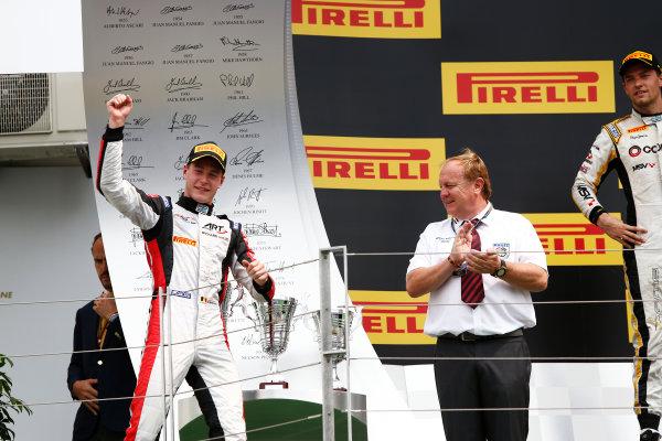 2014 GP2 Series Round 7. Hungaroring, Budapest, Hungary. Sunday 27 July 2014. Stoffel Vandoorne (BEL, ART Grand Prix)  Photo: Sam Bloxham/GP2 Series Media Service. ref: Digital Image _SBL9466