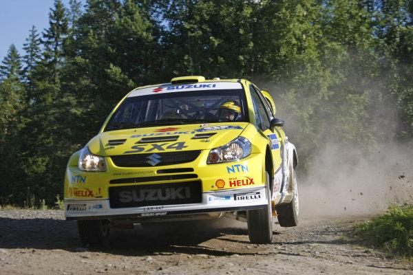 Round 09Neste Oli Rally Finland 200831/7-3/8  2008Toni Gardemeister, Suzuki WRC, Action