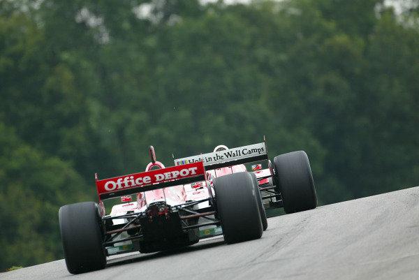 2003 ChampCar (Champ Car) Mid Ohio, Aug 9 - 11 Lexington, Ohio, USAMichel Jourdain Jr and Sebastien Bourdais- Michael Kim, USA LAT Photography