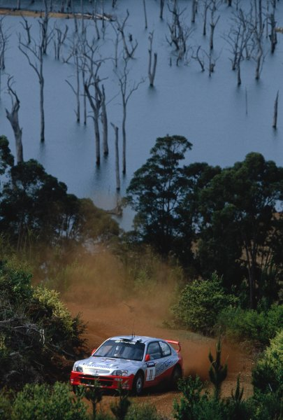 2003 World Rally ChampionshipRally Australia. 3rd - 7th September 2003Freddy Loix/Sven Smeets (Hyundai Accent WRC3), action.World Copyright: McKlein/LAT Photographicref: 35mm Image A19